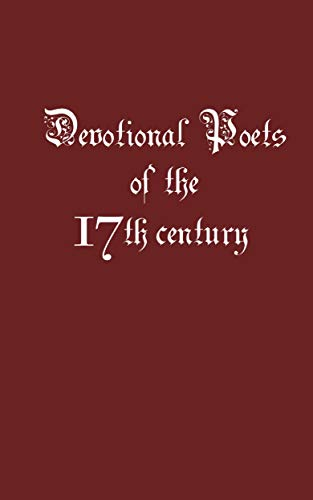 Devotional Poets of the 17th Century