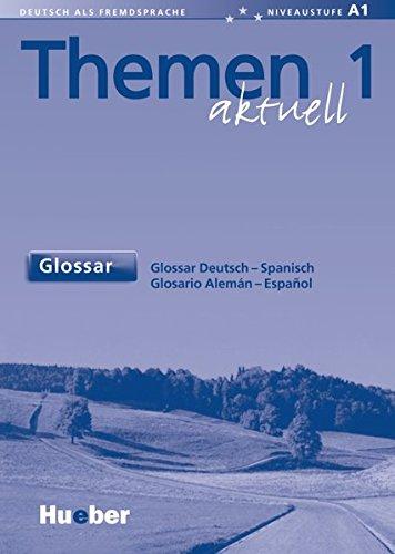 Themen Aktuell: Glossar Deutsch - Spanisch