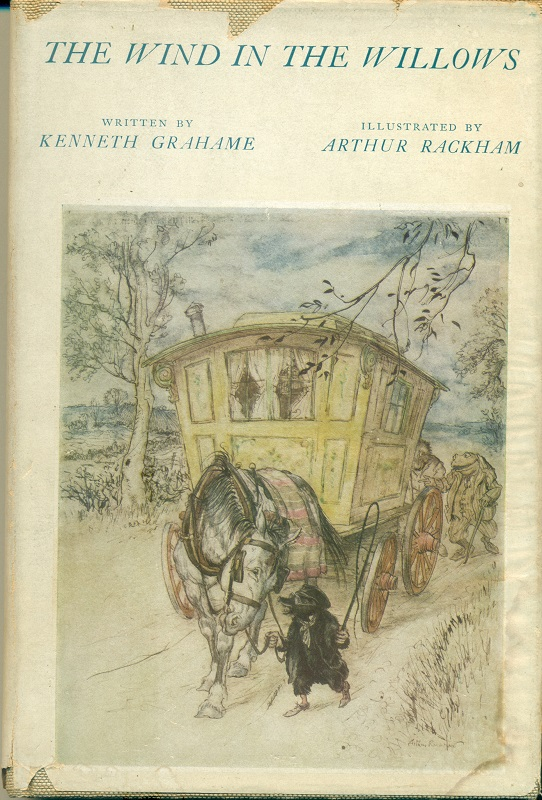 The Wind in the Willows / by Kenneth Grahame ; Illustrations by Arthur Rackham ; Introduction by A. A. Milne