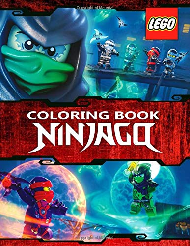 LEGO NINJAGO Coloring Book: Great 59 Illustrations for Kids
