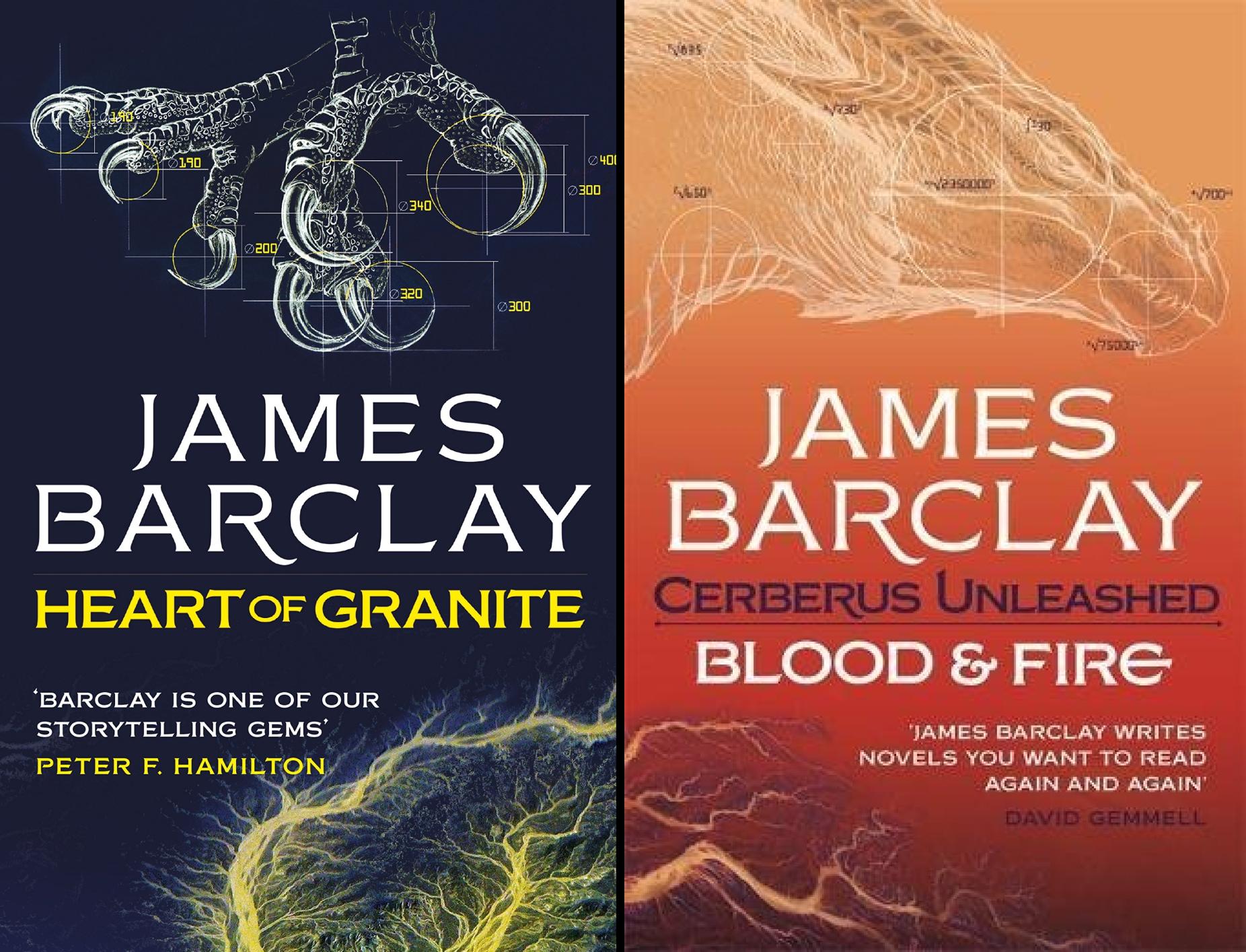 Blood & Fire (2 Book Series)