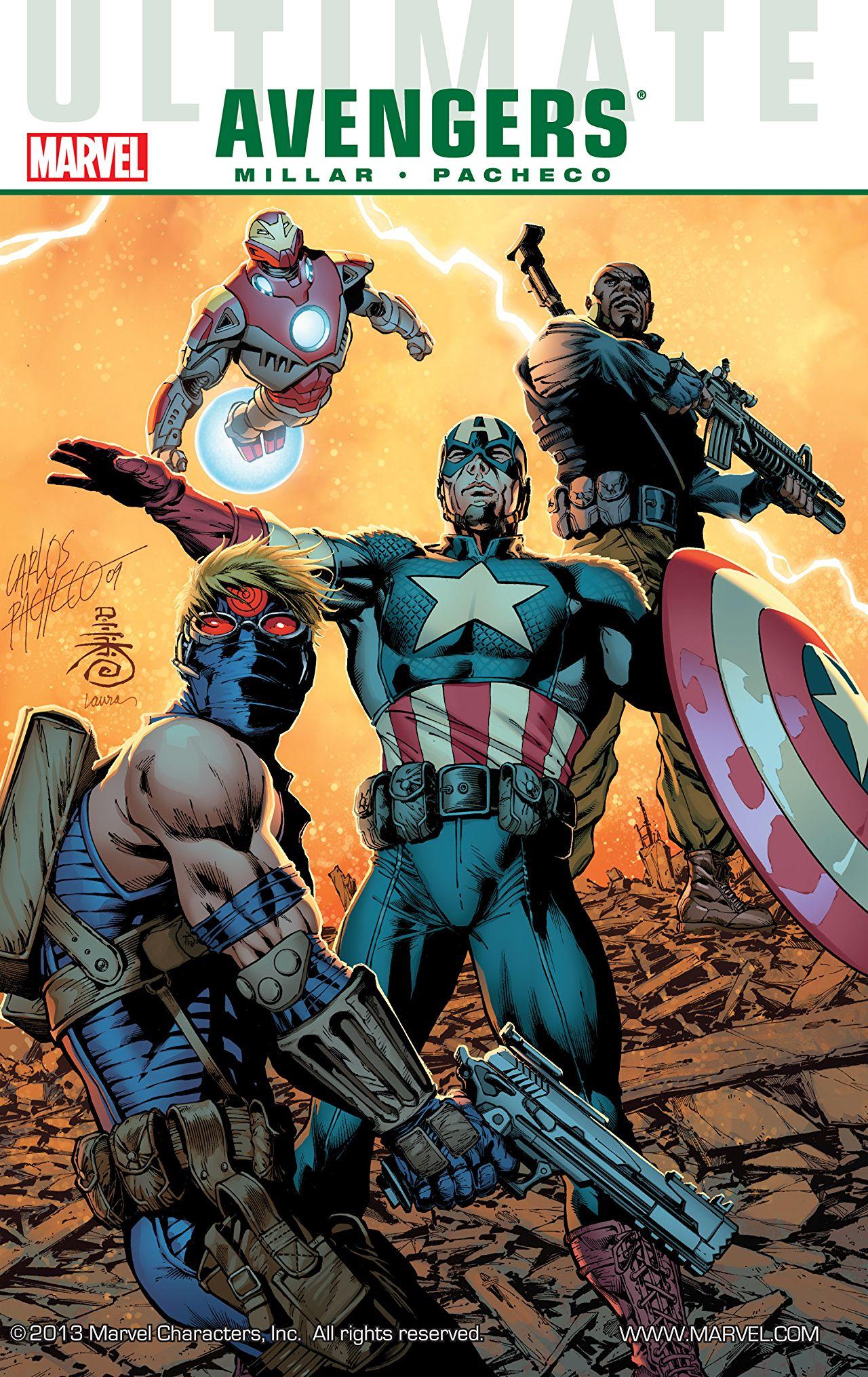 Ultimate Comics Avengers, Vol. 1: Next Generation