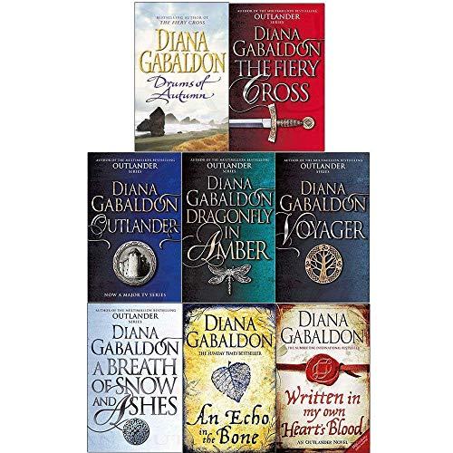 Outlander Series (Outlander, Dragonfly, Voyager, Drums Of Autumn, Fiery Cross, Snow And Ashes, An Echo in the Bone, Written in my own Heart's Blood)