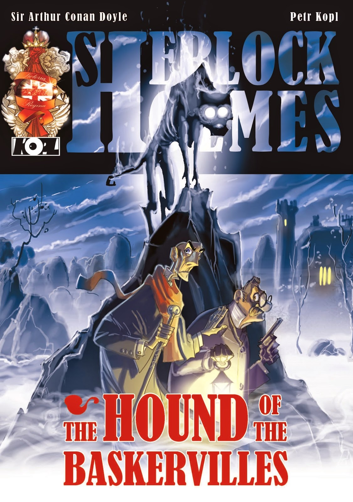 The Hound of The Baskervilles – A Sherlock Holmes Graphic Novel