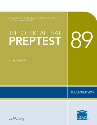 The Official LSAT Preptest 89: (november 2019 Lsat)