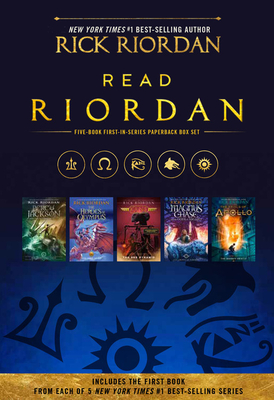 Read Riordan: The Lightning Thief / The Lost Hero / The Red Pyramid / The Sword of Summer / The Hidden Oracle