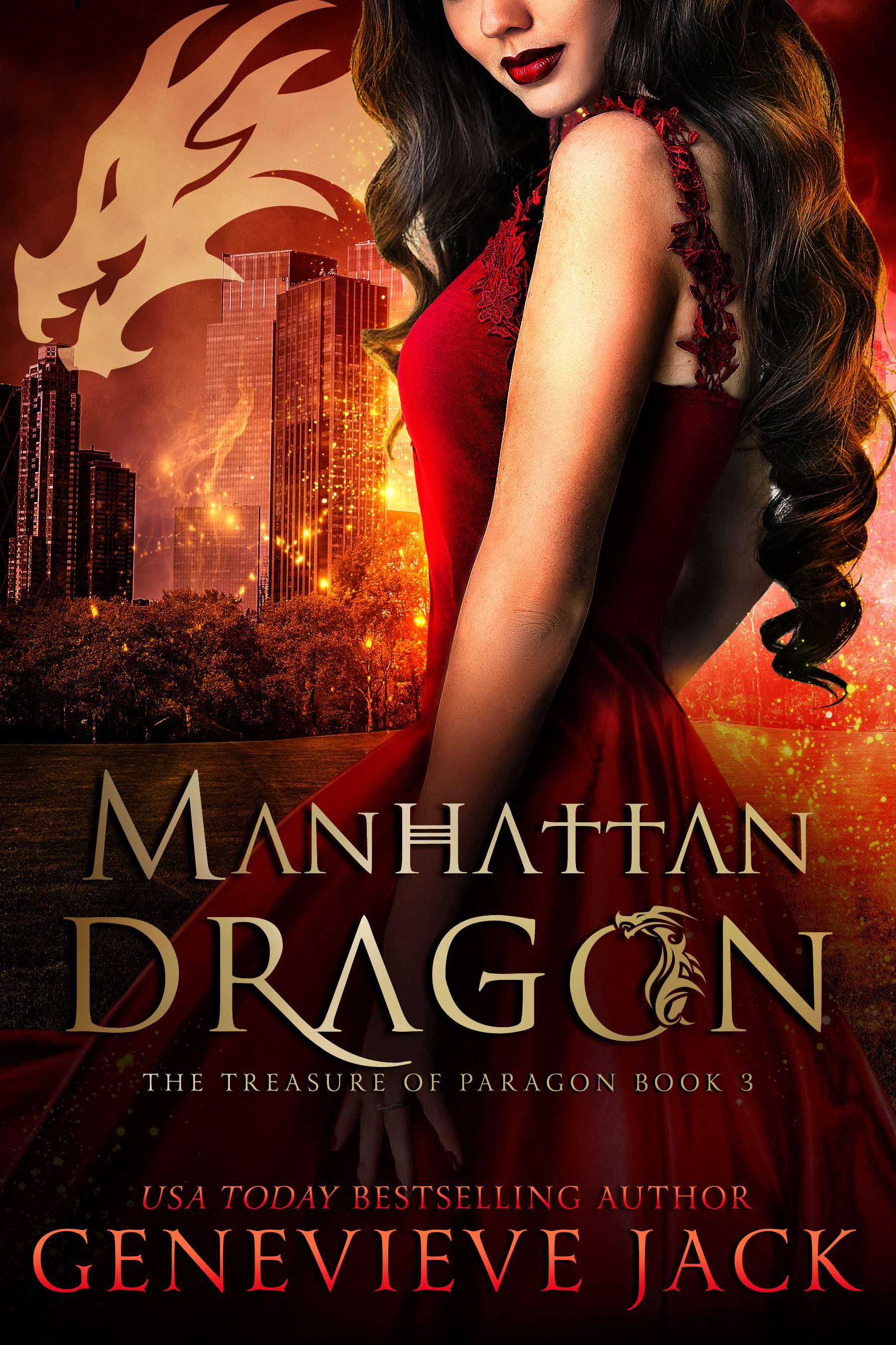 Manhattan Dragon (The Treasure of Paragon, #3)
