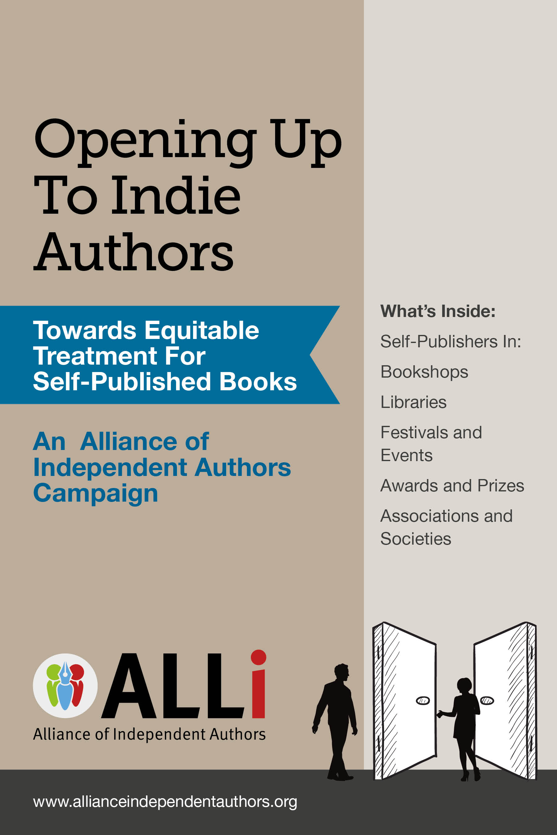 Opening up to Indie Authors: A Guide for Bookstores, Libraries, Reviewers, Literary Event Organisers ... and Self-Publishing Writers