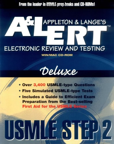 A&L ERT USMLE Step 2 CD-Rom Deluxe-Revision