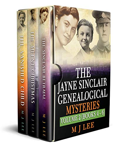 The Jayne Sinclair Genealogical Mystery Series Box Set 2: Books, 4, 5 & 6