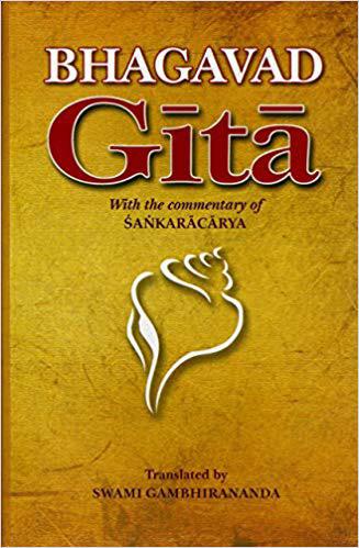 Bhagavad gītā with The Commentary of Śaṅkarācārya