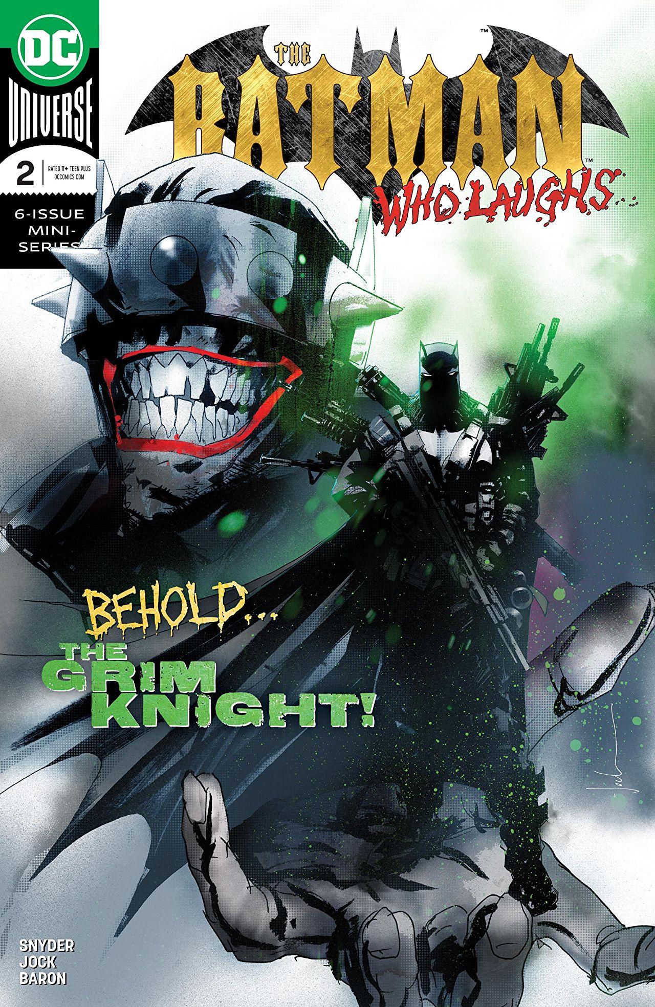 The Batman Who Laughs (2018-2019) #2