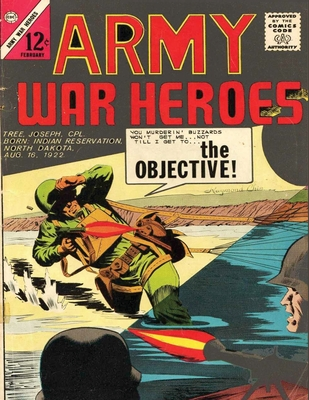 Army War Heroes Volume 2: history comic books, comic book, ww2 historical fiction, wwii comic, Army Attack