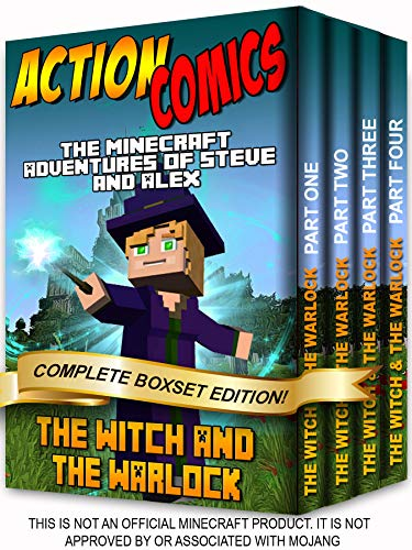 The Minecraft Adventures of Steve and Alex: The Witch & the Warlock - Complete Boxset Edition