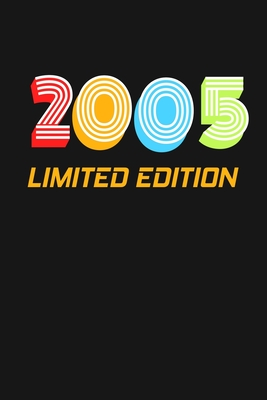 2005 Limited Edition: Happy 14th Birthday 14 Years Old Vintage Gift For Boys & Girls