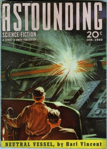 Astounding Science Fiction, January 1940