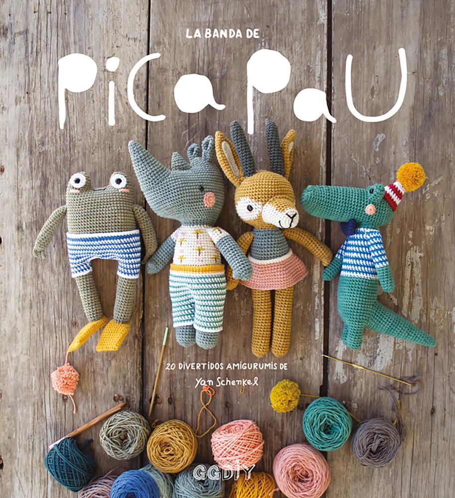 La banda de Pica Pau: 20 divertidos amigurumis