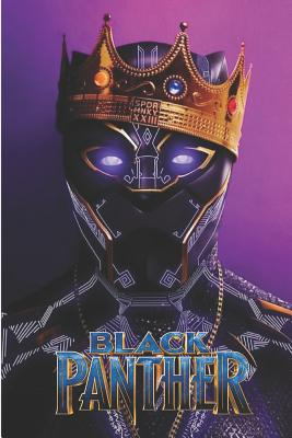 """Black Panther: Avengers Big Cat Book Organize Notes, Ideas, Follow Up, Project Management, 6"""" x 9"""" (15.24 x 22.86 cm) - 120 Pages - Durable Soft Cover - Wide Ruled notebook"""