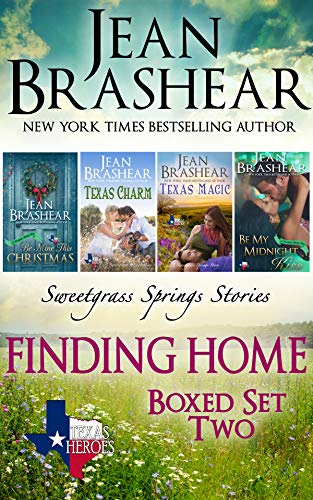 Finding Home Boxed Set Two: Sweetgrass Springs Books 11-14 (Texas Heroes Boxed Sets Book 6)