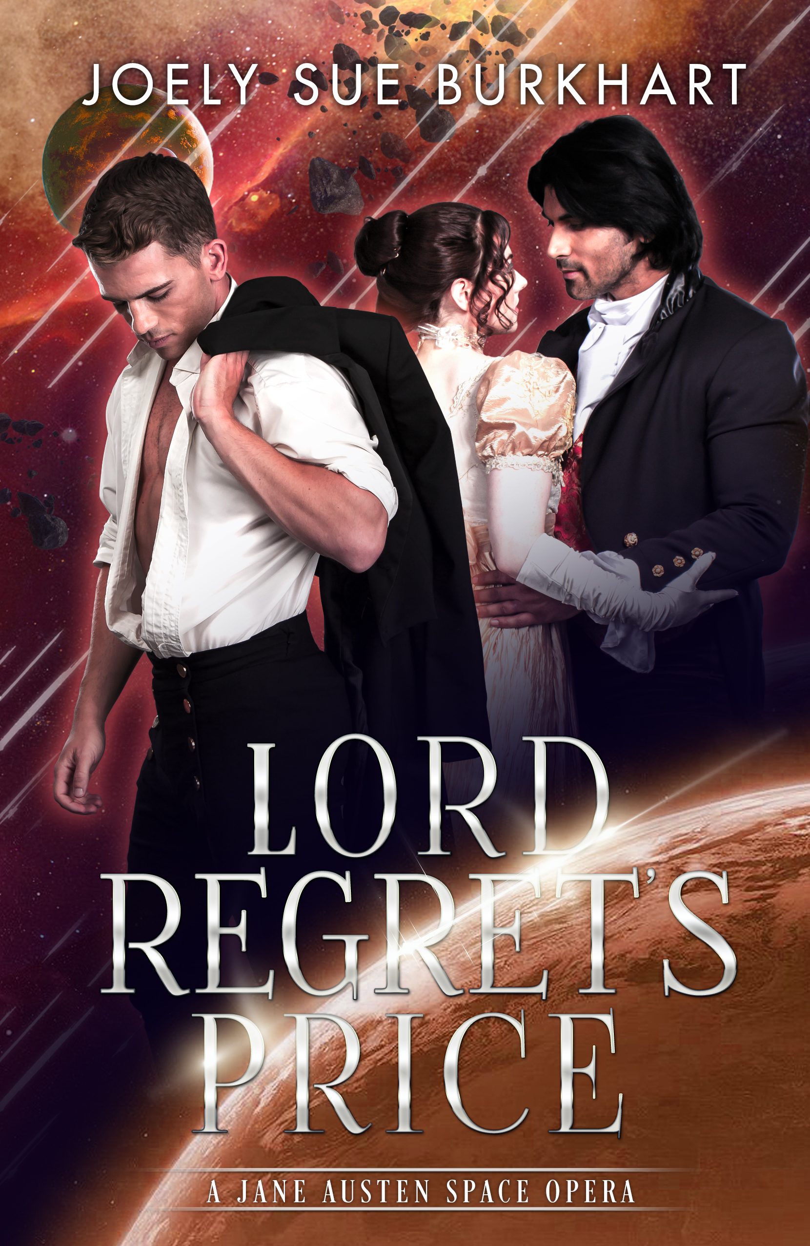 Lord Regret's Price (A Jane Austen Space Opera, #2)