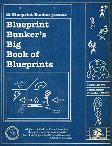 The Blueprint Bunker Presents: Blueprint Bunker's Big Book of Blueprints (A Fortnite Strategy Guide 1)