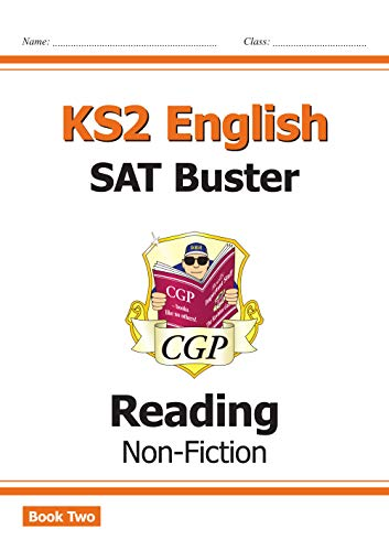 New KS2 English Reading SAT Buster: Non-Fiction - Book 2 (for the 2020 tests) (CGP KS2 English SATs)