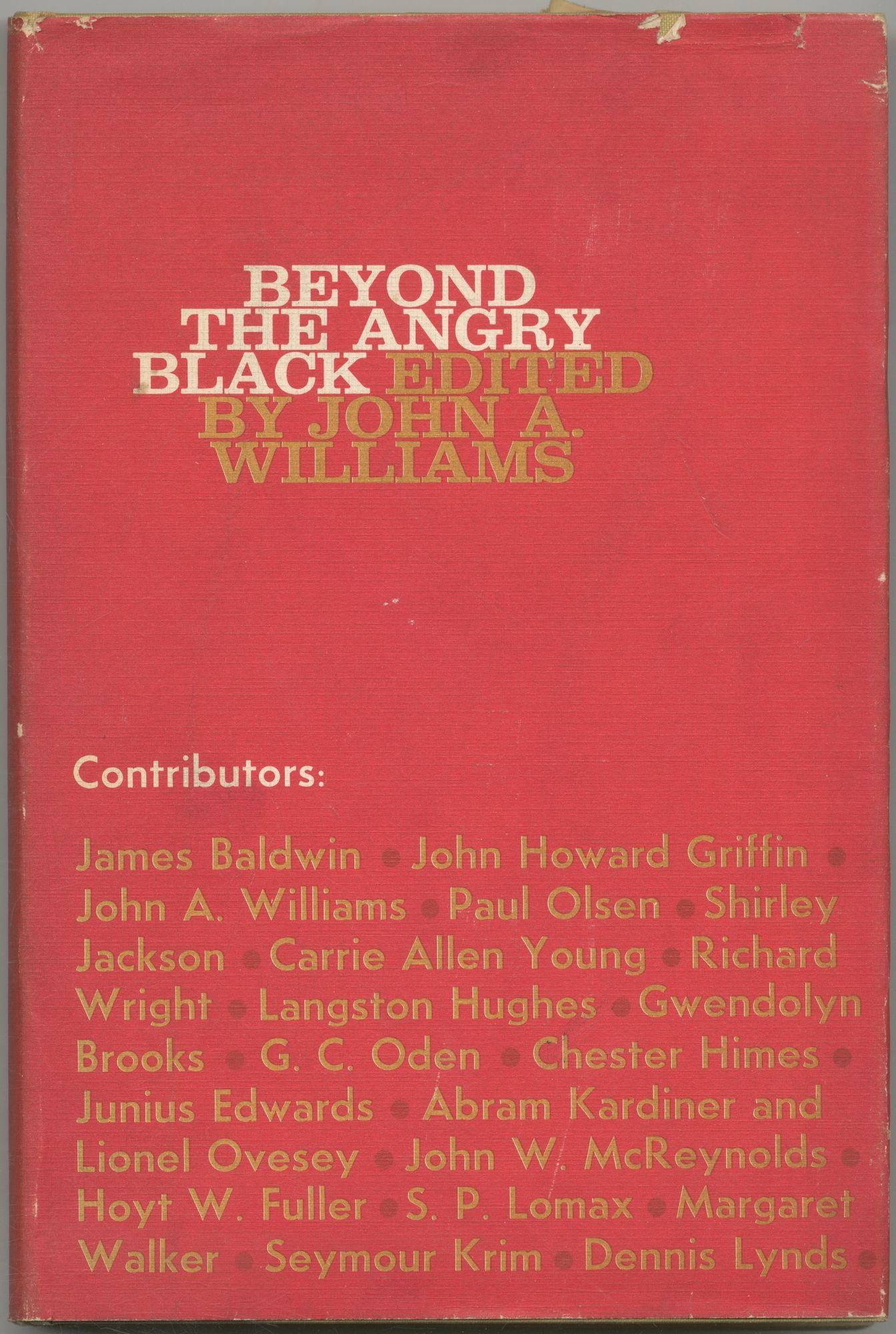 Beyond the Angry Black