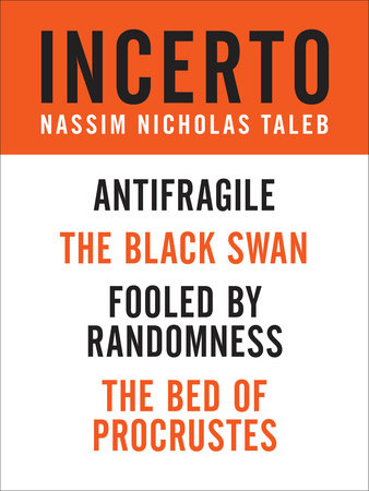 Incerto 4-Book Bundle: Antifragile, The Black Swan, Fooled by Randomness, The Bed of Procrustes