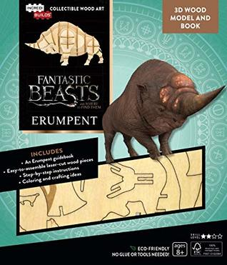 IncrediBuilds: Fantastic Beasts and Where to Find Them: Erumpent Deluxe Book and Model Set: Deluxe Book and Model Set