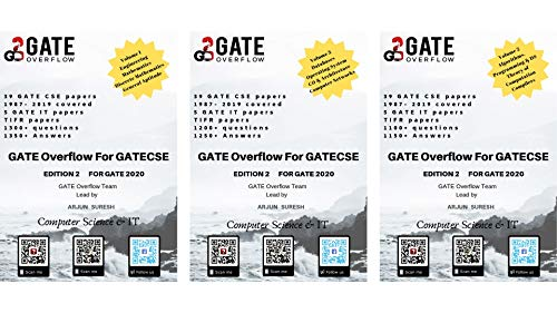 GATE Overflow for GATE Computer Science 2020 (3 Volumes Combined)