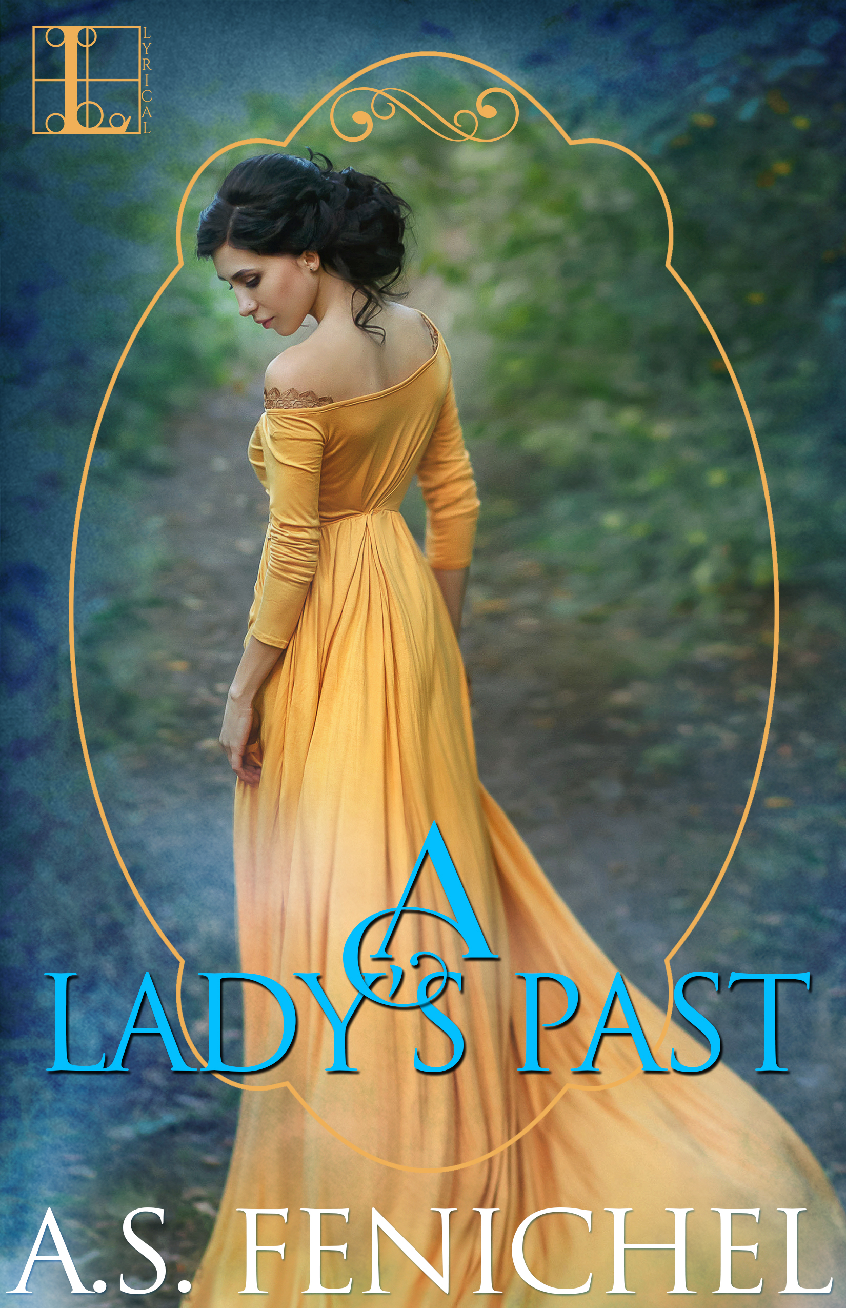 A Lady's Past (Everton Domestic Society, #4)