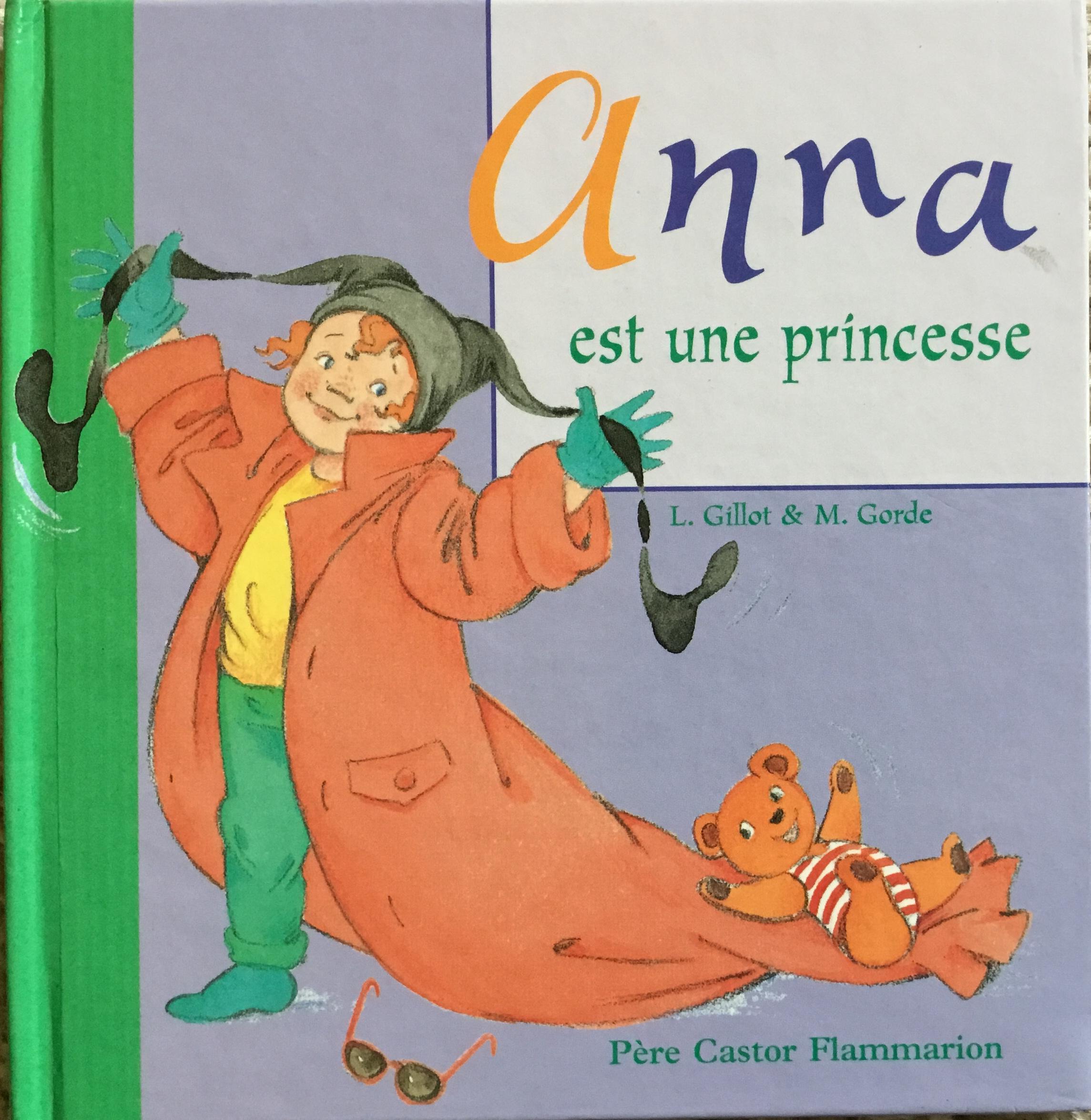 Anna est une princesse