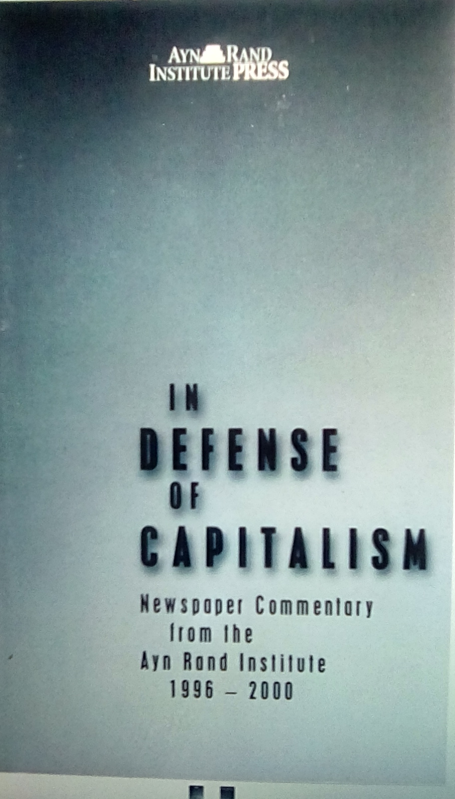 In Defence Of Capitalism