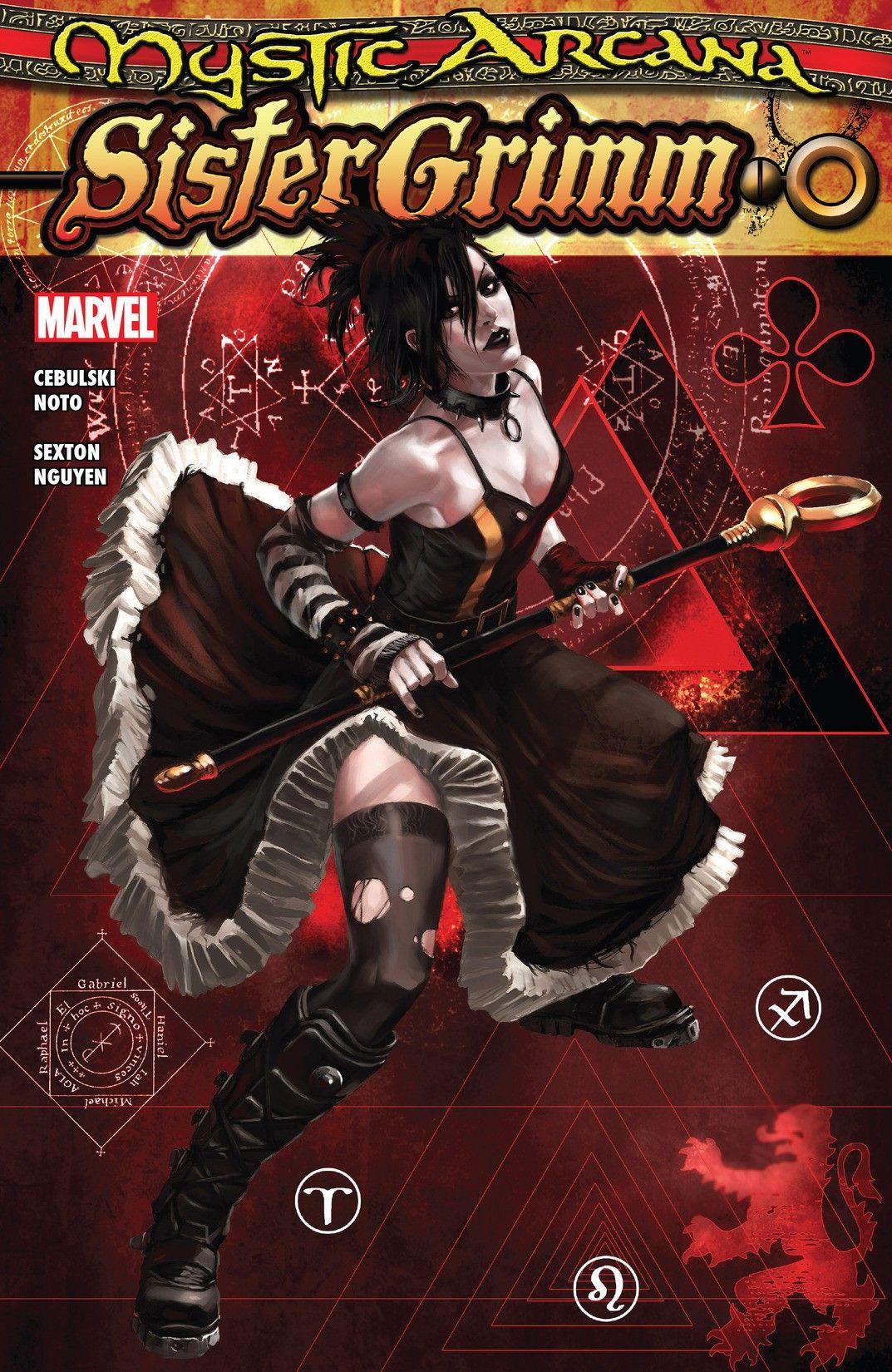 Mystic Arcana Sister Grimm #1