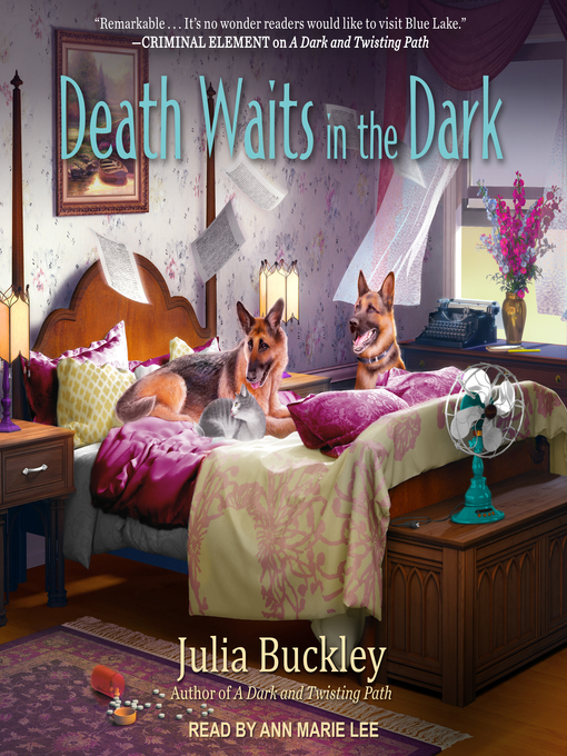Death Waits in the Dark (A Writer's Apprentice Mystery #4) (Audiobook)