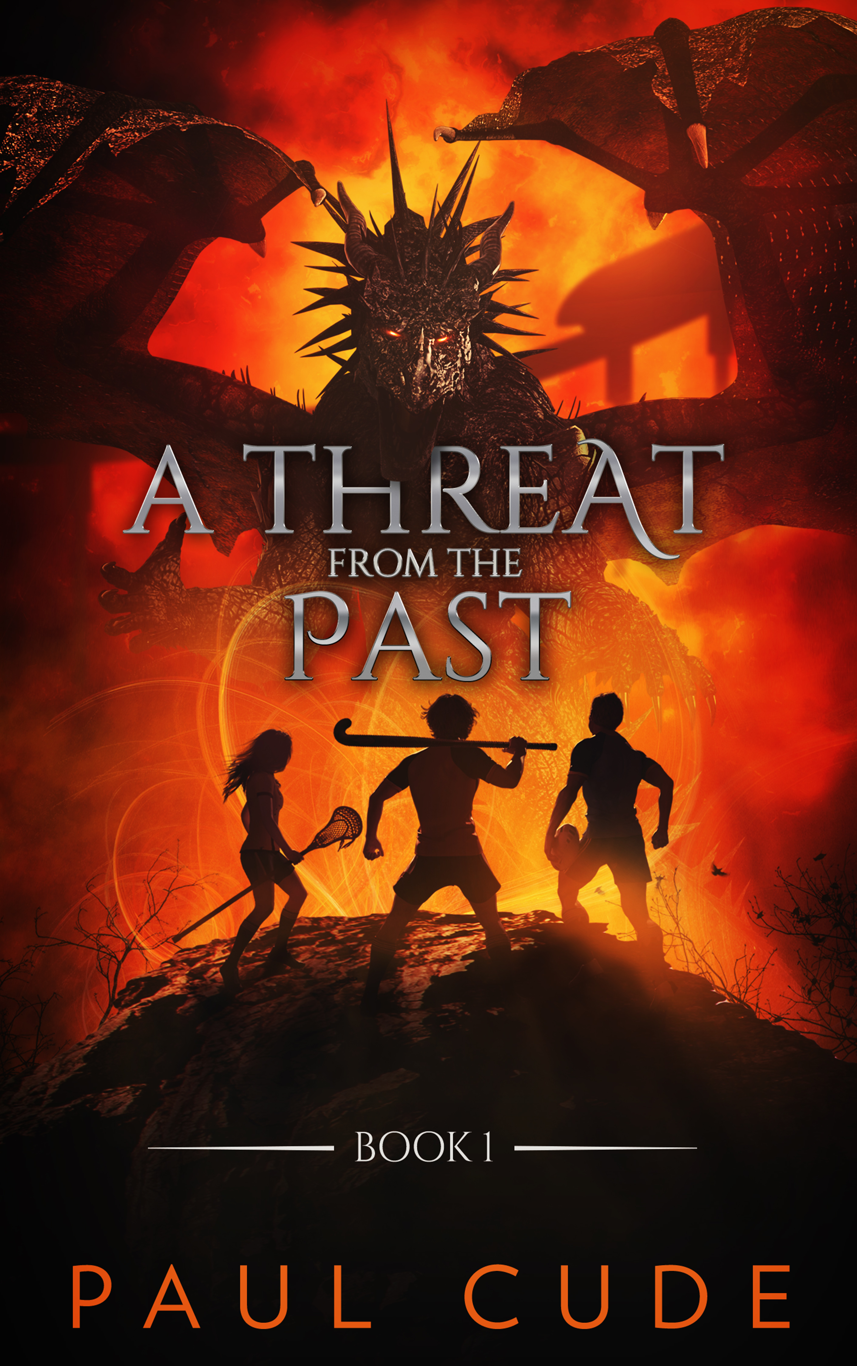 A Threat From The Past (The White Dragon Saga, #1)