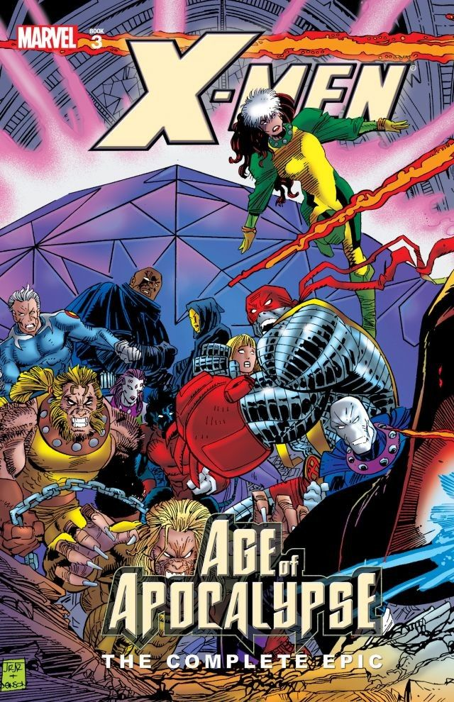 X-Men: The Complete Age of Apocalypse Epic, Book 3