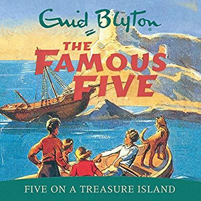 Five on a Treasure Island (Audiobook)
