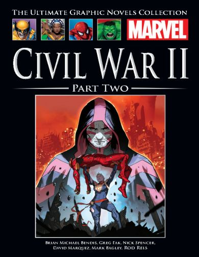 Civil War II Part Two (Marvel Ultimate Graphic Novels Collection #140)