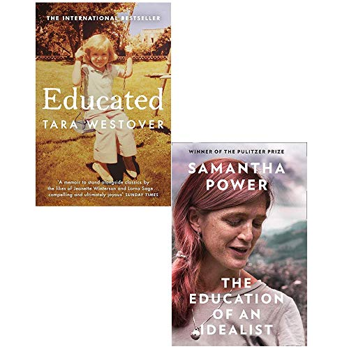 Educated Tara Westover and Education of an Idealist [Hardcover] 2 Books Collection Set