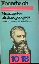 Manifestes philosophiques. Textes choisis (1839-1845)