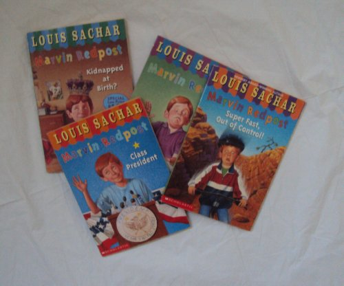 Marvin Redpost Book Set : Super Fast, Out of Control - Why Pick on me - Kidnapped at Birth, Class President (Book sets for Kids)