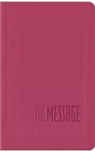 Message Bible, Compact, Imitation Leather, Pink