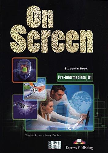 On Screen Pre-Intermediate B1 Student's Book + Writing Book