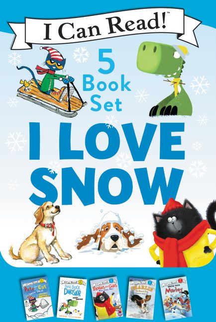 I Love Snow: I Can Read 5-Book Box Set - Celebrate the Season by Snuggling Up with 5 Snowy I Can Read Stories!
