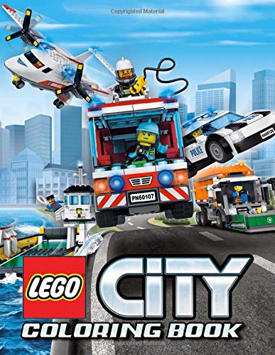 LEGO City Coloring Book: 35 Illustrations | Exclusive Book | Great Coloring Pages | Ages 2-7