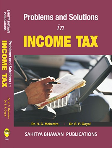 Problems and Solutions in Income Tax English Edition - Sahitya Bhawan Publications