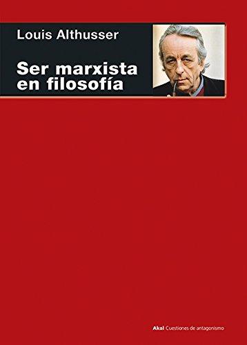 Ser marxista en filosofía