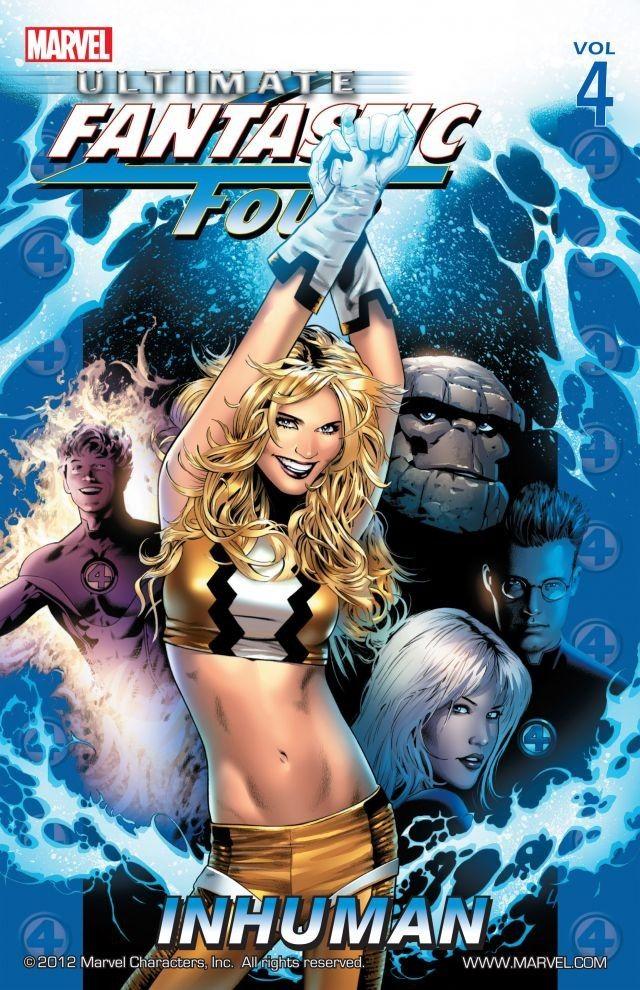 Ultimate Fantastic Four, Volume 4: Inhuman