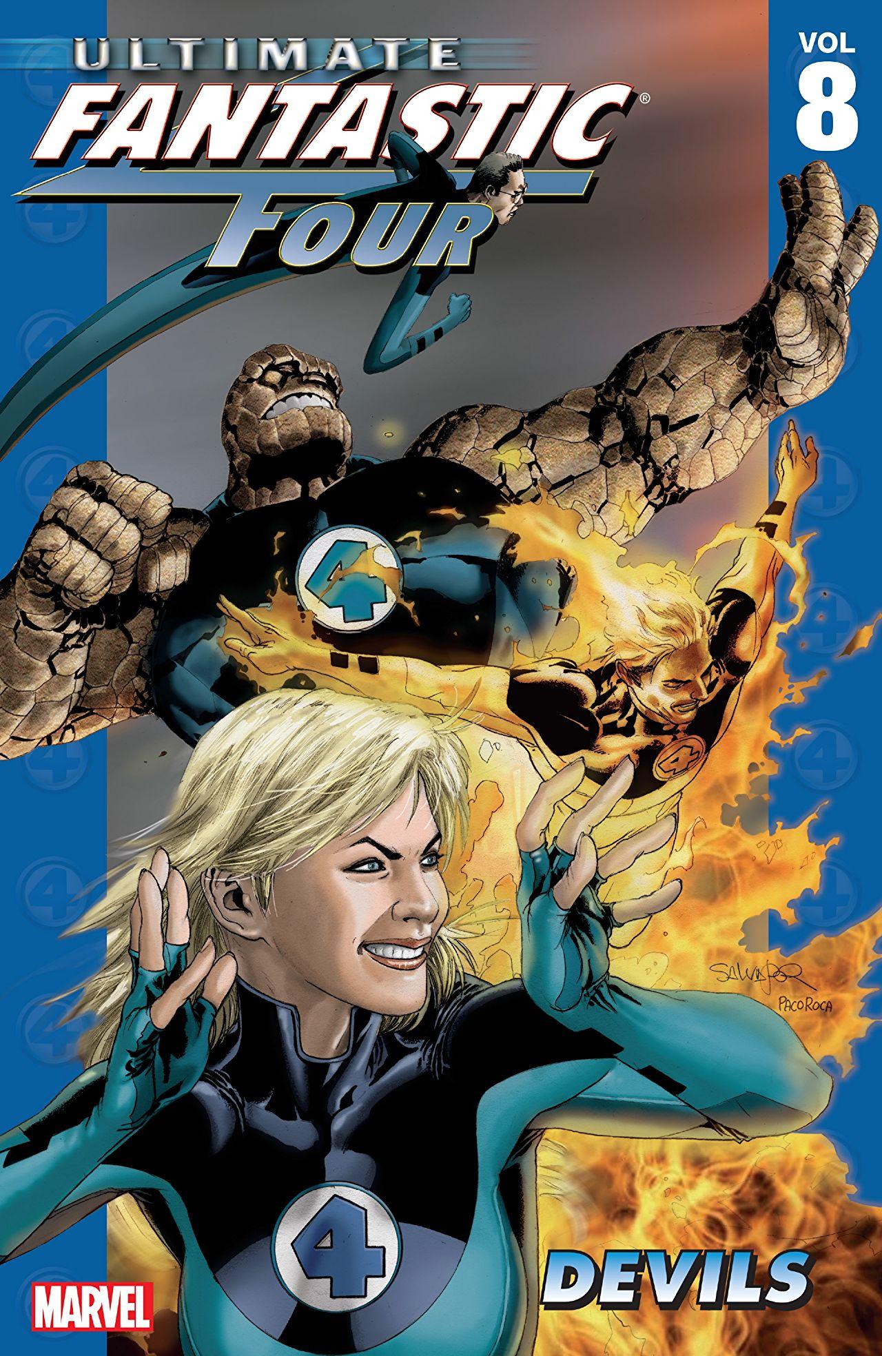 Ultimate Fantastic Four, Volume 8: Devils
